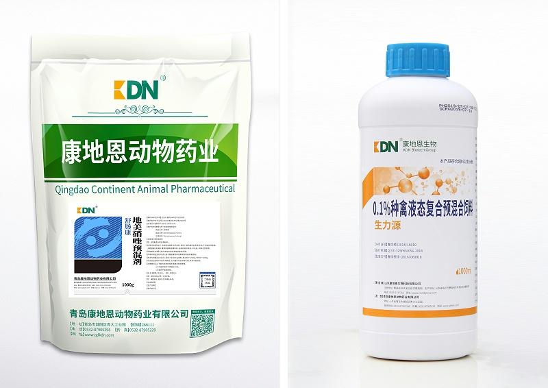 蛋鸡组织滴虫病治疗组合地美硝唑预混剂(舒肠康)+生力源